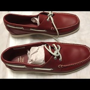 3421da0681c07 Brooks Brothers Leather Boat Shoes Sz 12